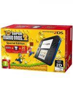 příslušenství pro Nintendo 3DS Konzole Nintendo 2DS Black & Blue + New Super Mario Bros. 2