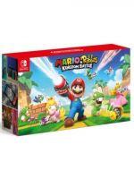 Konzole Nintendo Switch a příslušenství Konzole Nintendo Switch - Neon Red/Neon Blue + Mario+Rabbids Kindom Battle