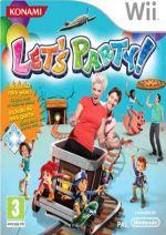 Hra pre Nintendo Wii Lets Party + podložka