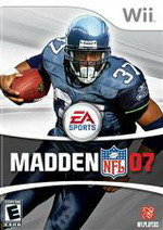 Hra pre Nintendo Wii Madden NFL 07