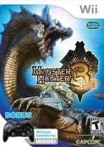 Hra pre Nintendo Wii Monster Hunter 3 + klasický ovladač Pro