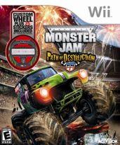 Hra pre Nintendo Wii Monster Jam: Path of Destruction (+ volant)
