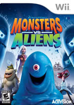 Hra pre Nintendo Wii Monsters vs. Aliens