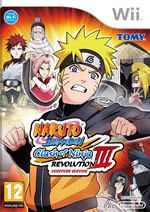 Hra pre Nintendo Wii Naruto Shippuden: Clash of Ninja Revolution 3
