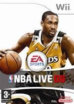 Hra pre Nintendo Wii NBA Live 08
