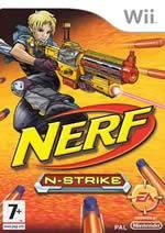 Hra pre Nintendo Wii NERF N-Strike + pištoľ