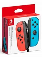 Hra pro Nintendo Wii Ovladače Joy-Con - Neon Red/Neon Blue [BAZAR]