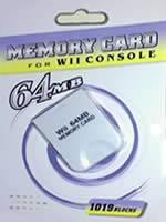 Príslušenstvo pre Nintendo Wii Wii Pamäťová karta 64MB