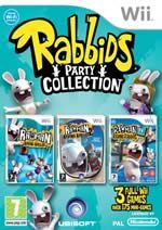 Hra pre Nintendo Wii Rayman Raving Rabbids Triple Pack: Party Collection