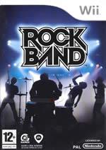 Hra pre Nintendo Wii Rock Band - gitara/bicie/mikrofón