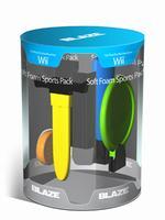 Príslušenstvo pre Nintendo Wii Športové nástavce pre Nintendo Wii Remote (Soft and Safe Sports Pack - dvojité balenie)