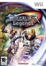 Hra pre Nintendo Wii SoulCalibur Legends