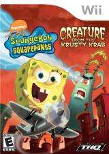 Hra pre Nintendo Wii SpongeBob SquarePants: Creature from the Krusty Krab