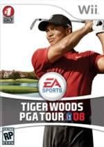 Hra pre Nintendo Wii Tiger Woods PGA Tour 08