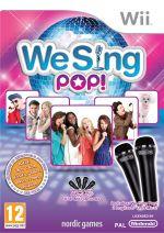 Hra pre Nintendo Wii We Sing Pop! + mikrofóny