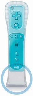 Wii diaľkový ovládač (modrý) + Motion Plus
