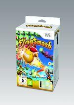 Príslušenstvo pre Nintendo Wii Wii diaľkový ovládač so zabudovaným Motion Plus (biely) + hra FlingSmash