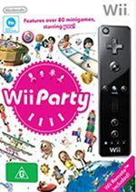 Hra pre Nintendo Wii Wii diaľkový ovládač (čierny) + Wii Party
