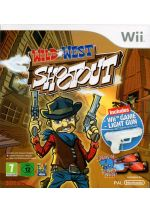 Hra pre Nintendo Wii Wild West Shootout + pištoľ Lightgun