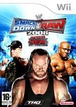 Hra pre Nintendo Wii WWE SmackDown! vs. RAW 2008