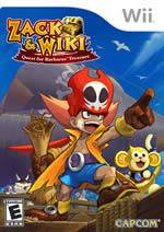 Hra pre Nintendo Wii Zack & Wiki: Quest for Barbaros Treasure