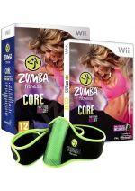 Hra pre Nintendo Wii Zumba Fitness 3: Core - s opaskom - bazar