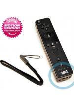 Pr�slu�enstvo pre Nintendo Wii Wii dia�kov� ovl�da� so zabudovan�m Motion Plus (pre Wii a WiiU) (�ierny) (Under Control)