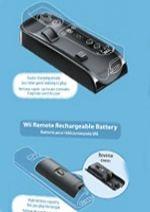 Wii U diaľkový ovládač - Set pre rýchlejšie nabíjanie (WUHW)