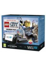 Príslušenstvo pre Nintendo WiiU Konzola Nintendo Wii U (čierna) Premium + Lego City Undercover