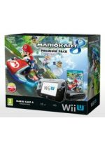 Príslušenstvo pre Nintendo WiiU Konzola Nintendo Wii U (čierna) Premium + Mario Kart 8