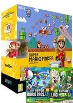 Príslušenstvo pre Nintendo WiiU Konzola Nintendo Wii U (čierna) Premium + Super Mario Maker + New Super Mario Bros. U