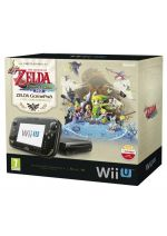 Príslušenstvo pre Nintendo WiiU Konzola Nintendo Wii U (čierna) Premium (Limited Edition) + The Legend of Zelda: The Wind Waker HD