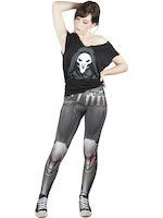 Legíny Overwatch - Reaper (veľkosť L) (TRIKO)