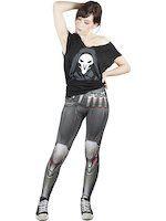 Legíny Overwatch - Reaper (veľkosť XL) (TRIKO)