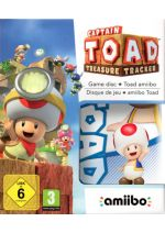 Hra pre Nintendo WiiU Captain Toad: Treasure Tracker + Amiibo Toad