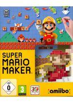 Hra pre Nintendo WiiU Super Mario Maker + Artbook + figúrka Amiibo