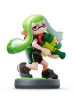 Příslušenství ke konzoli Nintendo WiiU Amiibo (Splatoon) Inkling Girl - zelená
