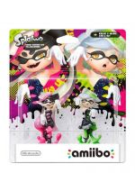Příslušenství ke konzoli Nintendo WiiU Amiibo (Splatoon) Callie a Marie - set figurek