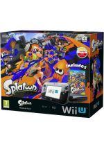 Príslušenstvo pre Nintendo WiiU Konzola Nintendo Wii U (čierna) Premium + Splatoon