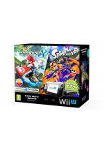 Príslušenstvo pre Nintendo WiiU Konzola Nintendo Wii U (čierna) Premium + Mario Kart 8 + Splatoon