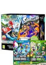 Príslušenstvo pre Nintendo WiiU Konzola Nintendo Wii U (čierna) Premium + Mario Kart 8 + Splatoon + New Super Mario Bros U