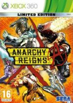 Hra pro Xbox 360 Anarchy Reigns (Limitovaná edice)