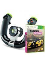 Hra pre Xbox 360 Forza Horizon + bezdrôtový volant Speed Wheel