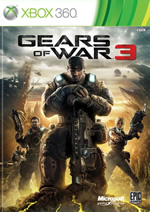 Gears of War 3 CZ XBOX360