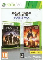 Hra pre Xbox 360 Halo: Reach + Fable III CZ (Double Pack)