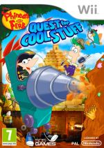 Hra pre Nintendo Wii Phineas and Ferb: Quest for Cool Stuff