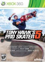 Hra pre Xbox 360 Tony Hawks Pro Skater 5