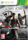 Hra pro Xbox 360 Ultimate Action Triple Pack (Just Cause 2, Sleeping Dogs, Tomb Raider)