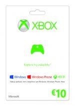 Hra pre Xbox 360 X360 Live predplatená karta - 10€