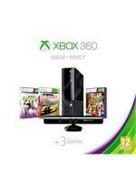 Příslušenství pro XBOX 360 XBOX 360 Slim Stingray - herní konzole (500GB) + pohybový senzor Kinect + Forza Horizon CZ + Kinect Sports + 1 měsíc Live Gold